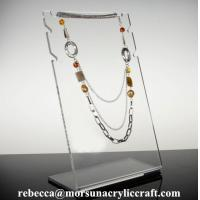 Buy cheap Clear Acrylic Jewelry Display Stand for Necklace from wholesalers