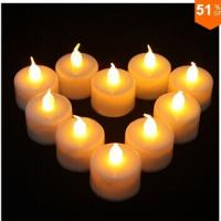 Buy cheap Yellow Flicker Tea Light LED Candle from wholesalers