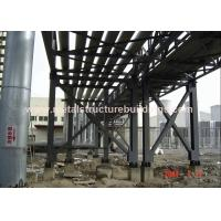 Buy cheap Bolt Joint Steel Frame Structure Pipe Rack Modularization Foundation For Water Supply from wholesalers