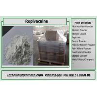 Buy cheap CAS 84057-95-4 Pain Killer Raw Powder Ropivacaine For Epidural Anesthesia from wholesalers