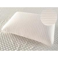 Buy cheap Neck support sleeping memory foam pillow, comfortable foam pillow with removable air layer knitted fabric cover from wholesalers