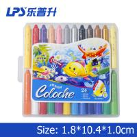Buy cheap 24 Colors Water Soluble Crayons Art Painting PVC Box Washable Crayon Set from wholesalers