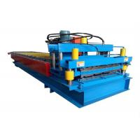 Buy cheap High Power Color Steel Roll Forming Machine Metal Roofing Machine With Hydraulic Cutting Device from wholesalers