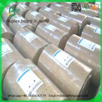 Buy cheap High quality white coated paper duplex board paper white back product