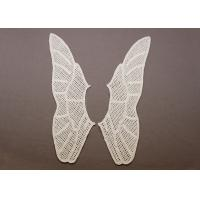 Buy cheap Butterfly Hand White Cotton Peter Pan Crochet Lace Collar Motif for Dresses and Blouses from wholesalers
