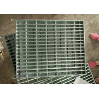 Buy cheap Industrial Galvanized Steel Walkway Grating Hot Galvanized Strong Impact Resistance product