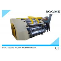Buy cheap Corrugated Cardboard Flute Forming Machine Corrugation Maker Single Facer from wholesalers