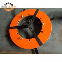 Quality WP -400 Casted Iron Material Welding Three Jaw Chuck , Self Centring Chuck for sale