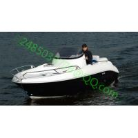 Buy cheap 4.8m fiberglass sport boat 6persons 40-60hp 30knot from wholesalers