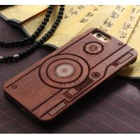 Buy cheap Customized PC Solid Wood iPhone Case , Environmental Bamboo Wooden Cell Phone Covers from wholesalers