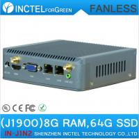 Buy cheap J1900 Mini PC Nano Computer ITX support Wake on LAN PXE Watchdog 3G GPIO 8G RAM 64G SSD from wholesalers