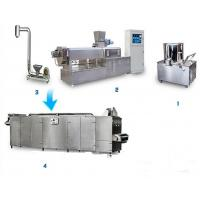 Buy cheap Soya Bean Food Processing Machinery , Vegetarian Sausage Making Equipment from wholesalers
