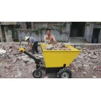 Buy cheap electric wheelbarrow with battery mobile machinery barrow trolley 600kg load capacity from wholesalers