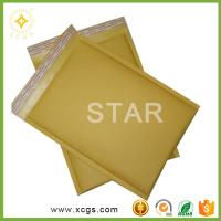 Buy cheap Small Brown Kraft Bubble Envelope ,brown kraft bubble bag,paper bubble envelope mailer from wholesalers