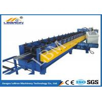 Buy cheap 75mm Roller Shaft C Z Purlin Roll Forming Machine , C Shape Purlin Making Machine from wholesalers