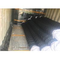 """Buy cheap 9 gauge 0.148"""" *3.76 mm mesh aperture 57mm*57mm chain mesh fabric 3.5'x25' roll size from wholesalers"""