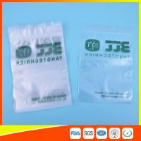 Buy cheap Eco Friendly Reclosable Small Sealable Plastic Bags , Clear Plastic Zip Lock Bags from wholesalers