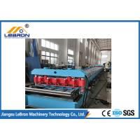 Buy cheap Total Power 9.5kw Corrugated Roof Sheet Roll Forming Machine PLC Control PG And PI Material from wholesalers