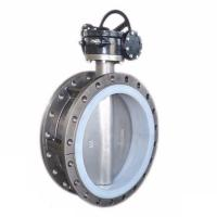 Buy cheap STAINLESS STEEL SS304 SS316 CONCENTRIC DOUBLE FLANGE BUTTERFLY VALVE BKVALVE from wholesalers