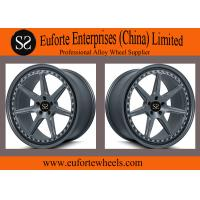 Buy cheap SS wheels - Matt Black Custom Alloy Wheels Painted Barrels Engraving Two Tone Finishes from wholesalers