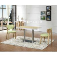 Buy cheap Ss Leg Square Restaurant Tables And Chairs , Hotel And Restaurant Furniture from wholesalers