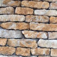 Buy cheap Quartzite Random Loose Stacked Stone Brick Style Brown Color Skidproof from wholesalers