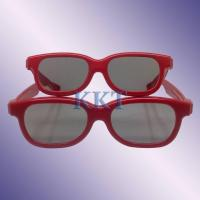 Buy cheap plastic passive 3d glasses for master image from wholesalers