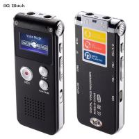 Buy cheap Digital Audio Voice Recorder, 8GB Multifunctional Dictaphone / MP3 Player with Built-In Speaker / Dual Microphone from wholesalers