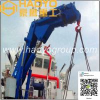 Buy cheap 5.4t/17.78m Knuckle Boom Marine Deck Crane Manufacturer Price from wholesalers