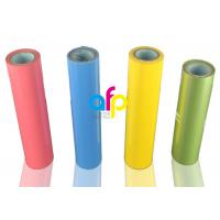 Buy cheap Gloss Hot Stamping Foil For Fabric / Clothes PET Material 1 Inch Paper Core from wholesalers