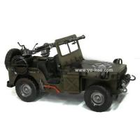 Buy cheap Metal Craft (Collectible Military Jeep Model) from wholesalers