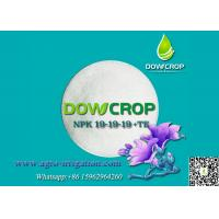 Buy cheap DOWCROP AGRICULTURE USE 100% WATER SOLUBLE BALANCE FORMULA COMPOUND NPK 19-19-19 WITH TRACE ELEMENTS CRYSTAL POWDER from wholesalers