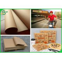 Buy cheap Smooth Surface 300GSM Brown Kraft Paper Roll For Making Pizza Box from wholesalers