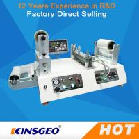 Buy cheap 1 phase, AC 220V 1050W Vacuum Film Lab Coating Machine For LIthium Battery Electrode Coating from wholesalers