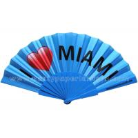 Buy cheap Promotion , Gift , Premium Personalised Hand Held Fan / Souvenir Hand Fan product