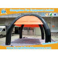 Buy cheap Outside Commercial Dome Inflatable Sunshade Tent With 4 Legs , Customized Design from wholesalers