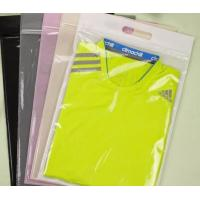 Buy cheap Clear Transparent Pvc Bag , Clothes Pin Pvc Hanger Bag Three Side Seal from wholesalers