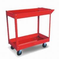 Buy cheap 755 x 415 x 875mm Pneumatic Type Tool Cart with 100kg Capacity and Four Solid Tires from wholesalers