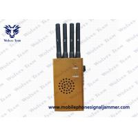 Buy cheap Portable GPS High Power Cell Phone Jammer CDMA GSM DCS PCS 3G L110 x W62 x H30 mm product