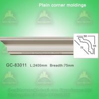 Buy cheap Gypsum Crown Moulding Plain Cornice Moulding For Villa/Hotel/Bungalow Ceiling Decoration from wholesalers