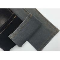 Buy cheap Indigo Knitted Stretch Denim Fabric 100 Cotton French Terry Fleece Fabric from wholesalers