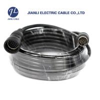 Quality Vehicle Reverse Camera 13 Pin Din Cable , Extension Reverse Wire For Backup Camera for sale