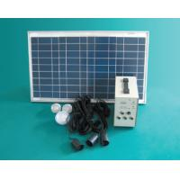 Buy cheap Solar power system SP-1220 three rooms family from wholesalers