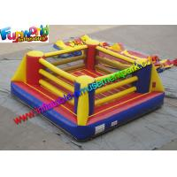 Buy cheap Customized Durable Inflatable Sports Games Boxing Arena With Gloves from wholesalers