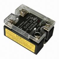Buy cheap Solid-state relay, double LED indicators, single phase SSR with UL, CE Certified product