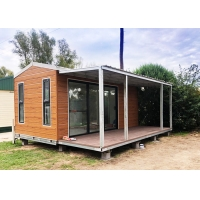 Buy cheap Light Steel Structure Bungalow , Sandwich Cladding Strong Mobile House from wholesalers