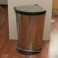 Buy cheap Triangle Soft Closed Pedal Step Dust Bin / Corner Bin from wholesalers
