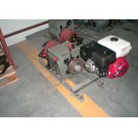 Buy cheap High Speed 5 Ton Gasoline Powered Cable Pulling Winch with Honda Engine from wholesalers