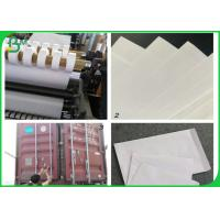 Buy cheap 100% wood pulp 80gsm woodfree printing paper for making envelop Free sample from wholesalers