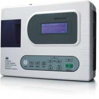 Buy cheap portable Automatic 12 lead digital ECG single channel machine can upgraded three channel from wholesalers